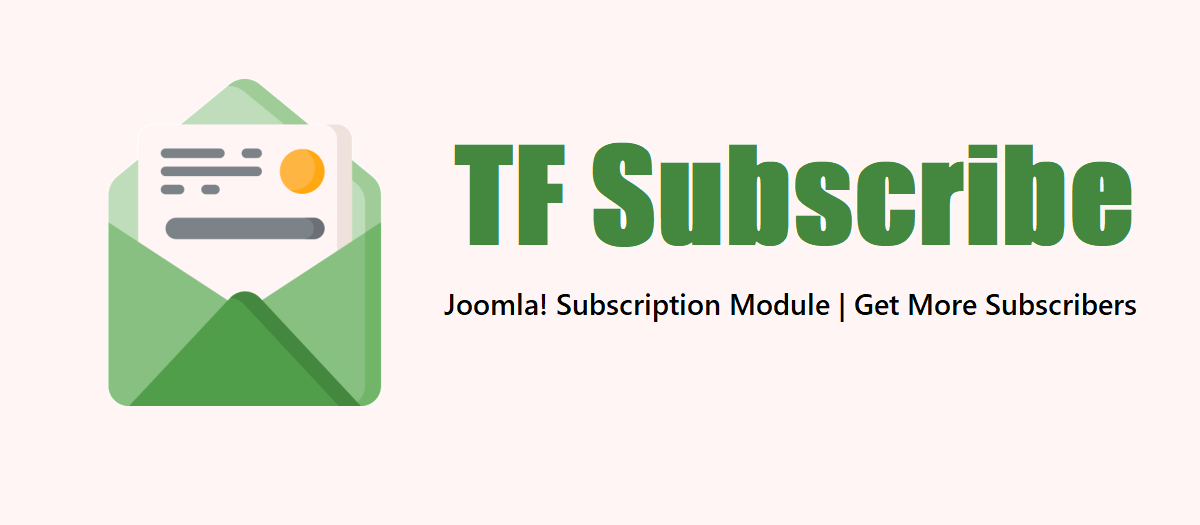 Joomla Subscription Module